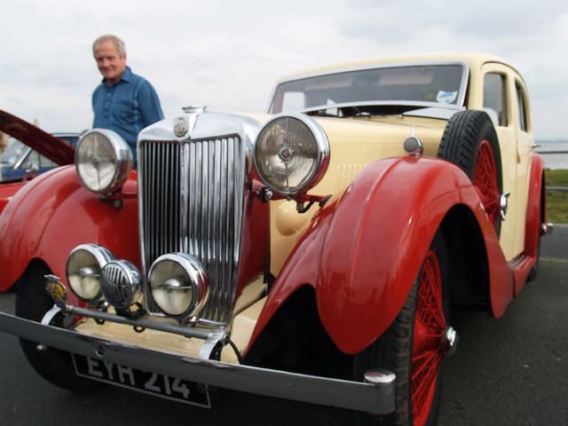 MG-VA Old Saloon Cars - 1938 | MG-VA Lovely Old Saloon Cars