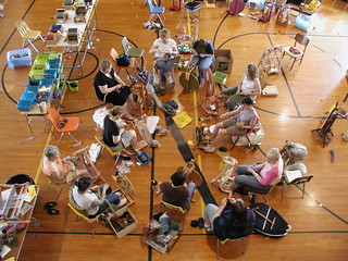 Yarn School: Sunday afternoon spinning
