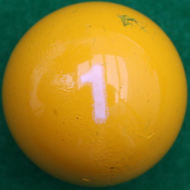 Miniature Pool Ball 1