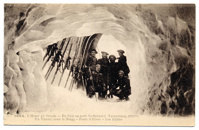 Winter In Savoy: A Tunnel Under the Snow (c.1912)