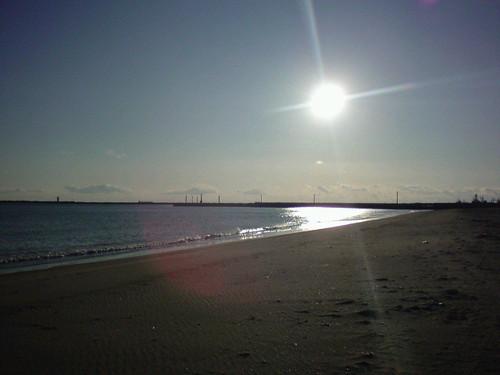 ocean sunset sea japan landscape coast cellular miyagi ishinomaki