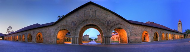Twilight Aura at Stanford - Panorama