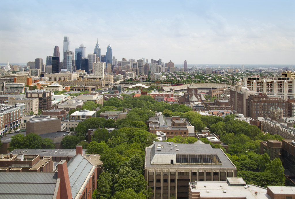 University of Pennsylvania Campus, Looking East | Photo by S… | Flickr