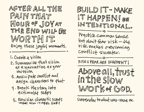 Storyline Conference 2011 Sketchnotes: 41-42 | by Mike Rohde