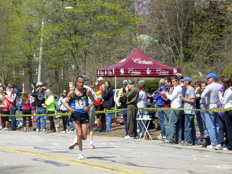 Khalid El Boumlili Boston Marathon 2008