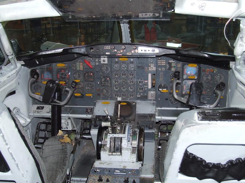 Cockpit, Syracuse Airport, NY
