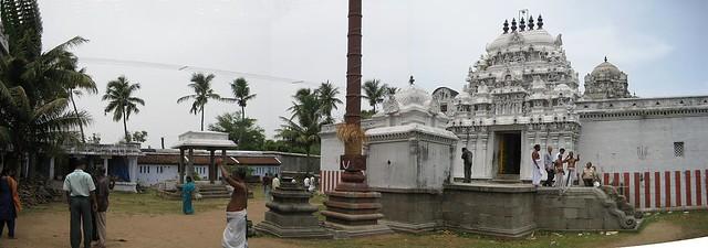 Panaramic view - Inside the temple