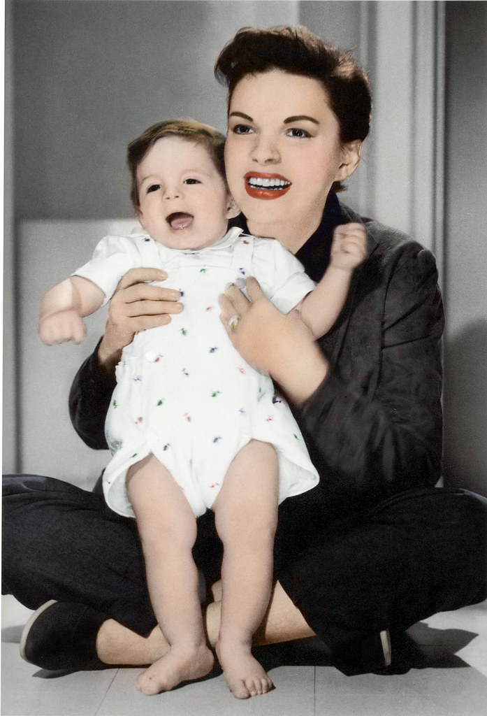 Judy Garland And Joey Luft | Judy Garland And Her Son Joey ...