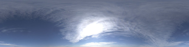Hyperfocal HDRI Skies: Strands of Cirrus | You can see why I