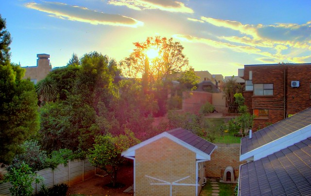 Sunset - In HDR