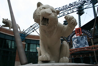 Comerica Park Tiger Statue | by Kevin.Ward