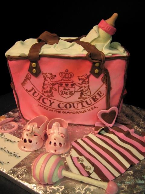 Juicy baby bag  cake new