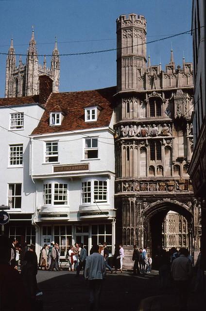 England , In Canterbury unterwegs   - 4