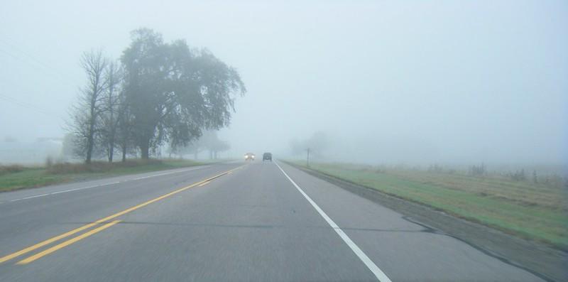 Highway fog 1