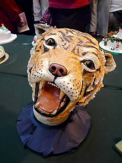 Cake International N E C Birmingham 2008 Tiger S Head