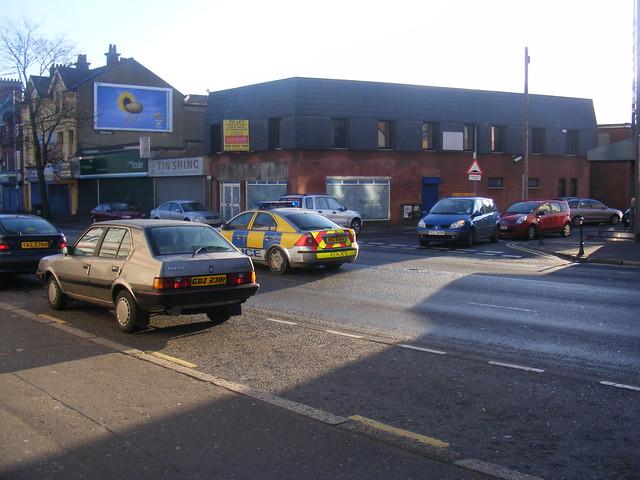 Police Car East Belfast