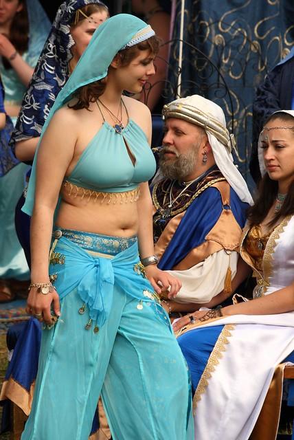 Part of the Blue Baron's harem