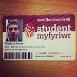 I'm officially a student again, apparently :-D