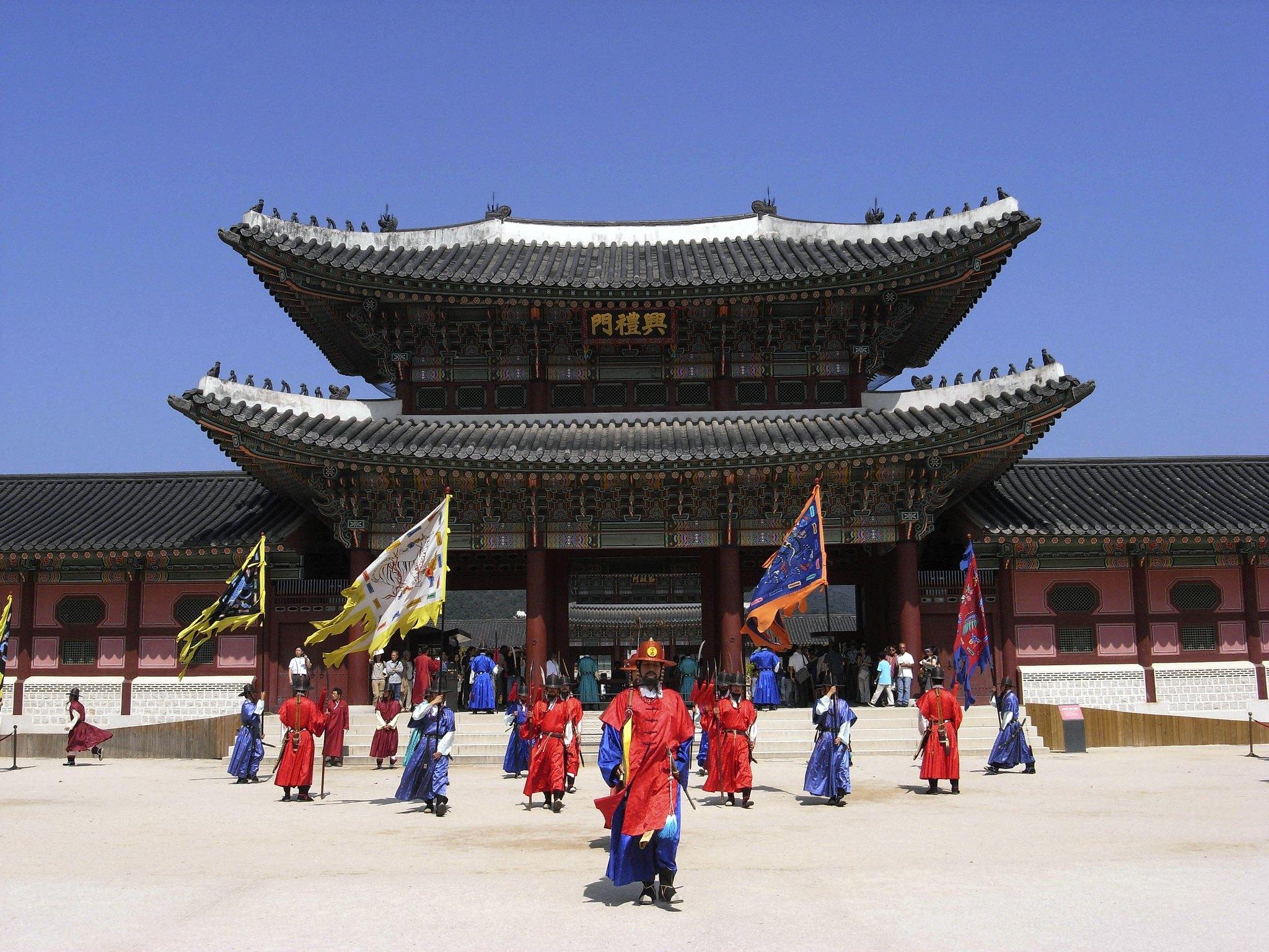 Gyeongbookgung Palace (景福宮)