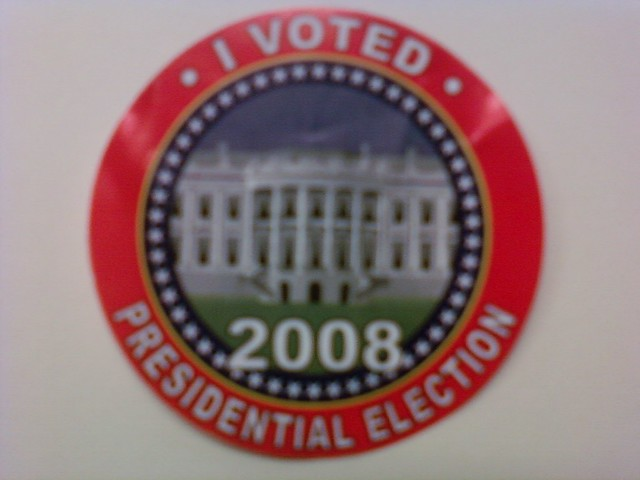 I Voted in 2008