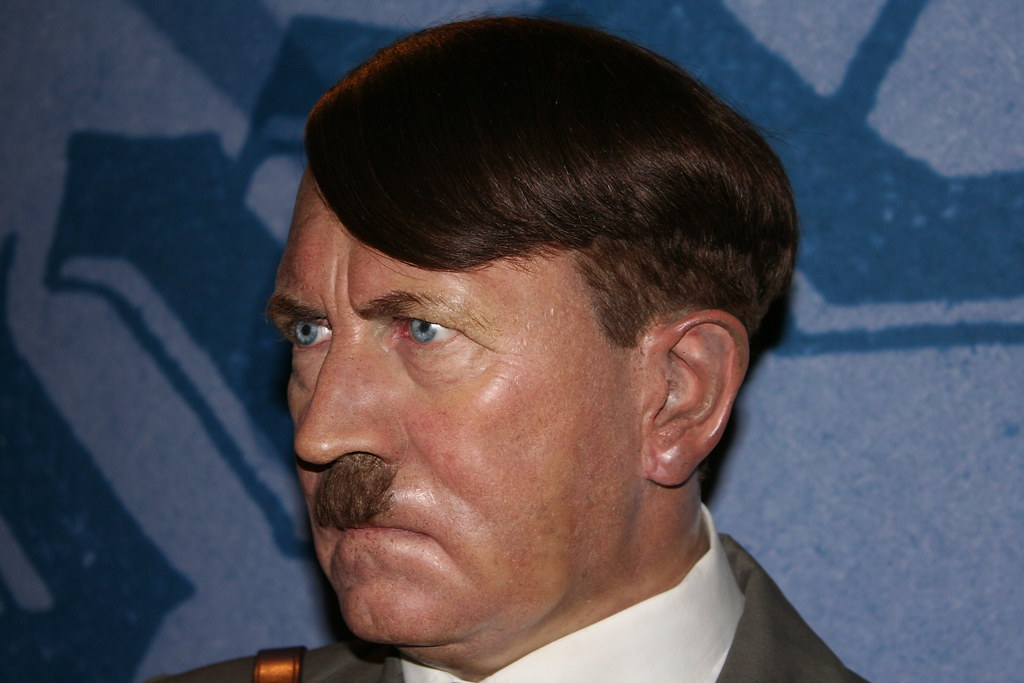 Adolf Hitler | At the Madame Tussaud wax house. I don't like… | Flickr