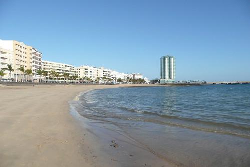 Playa del Reducto, Arrecife