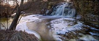 Waterfall Feeding Illinois and Michigan Canal