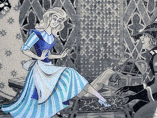 Disney - Cinderella Castle Mosaic Selective Coloring | by Express Monorail
