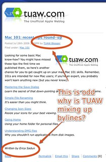 The Unofficial Apple Weblog (TUAW) | by jasoncalacanis