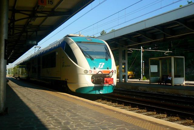 Train at Monfalcone