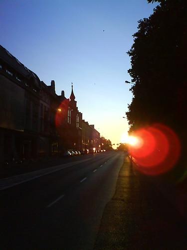 sunrise opole wschod ozimska