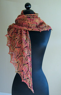 Nehalem Bay Shawl - As scarf | by MissMarnie