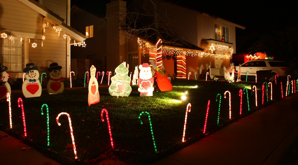 Christmas Card Lane Rancho Penasquitos San Diego 2008 Flickr