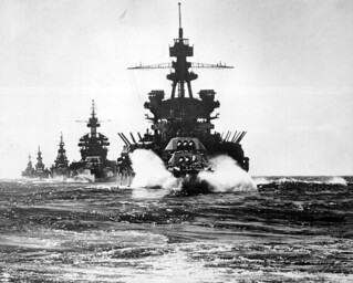 USS PENNSYLVANIA and battleship of COLORADO class