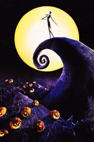 Nightmare Before Christmas Iphone Wallpaper Nephilimdm