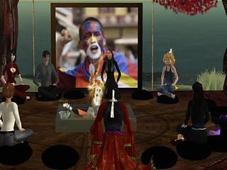 Free Tibet Meditation Vigil
