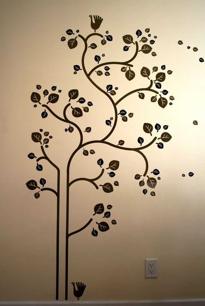 Ikea Sl 228 Tthult Folk Tree Wall Decals Behold The Ikea