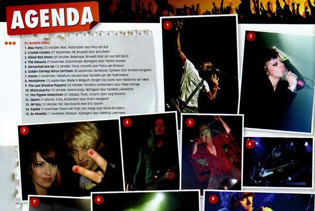 Photo in Dutch musicmagazine OOr