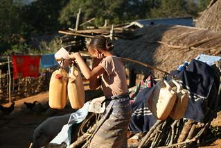 Hmong Village Life   by faithmonsoon