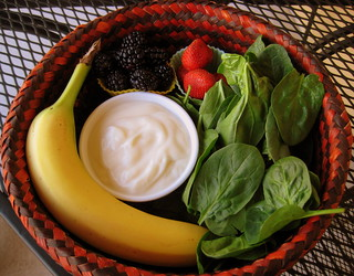 BASKET FOR MY MORNiNG SPiNACH SMOOTHiE | by aJ GAZMEN ツ GucciBeaR