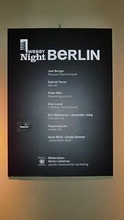 Webby Awards Berlin | by the waving cat