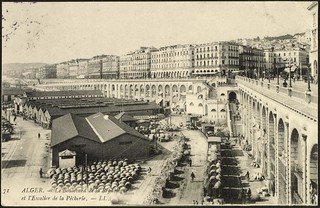 Algiers: The Boulevard de la République and the Staircase of the Fisheries (GRI) | by Getty Research Institute