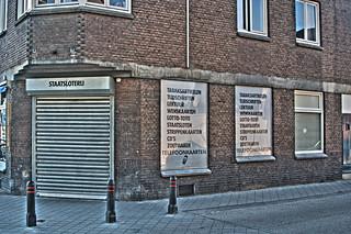 Corner Kiosk in Maastricht-Scharn   by Peter Köves