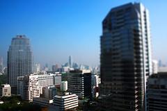 View from Pool at Banyan Tree, Bangkok | by andrewcbraithwaite