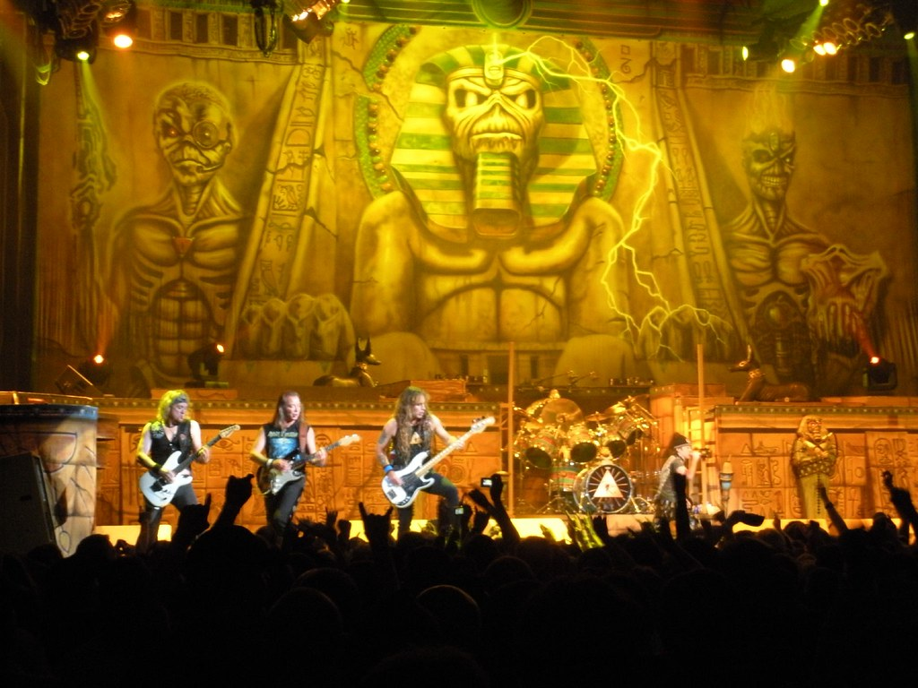 Iron Maiden Somewhere Back In Time Tour These Photos Are