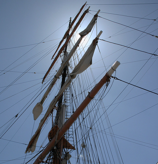 Rigging in the Sunshine