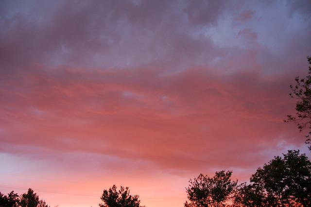 061108 - Cloudscapes with Nebraska Sunset!