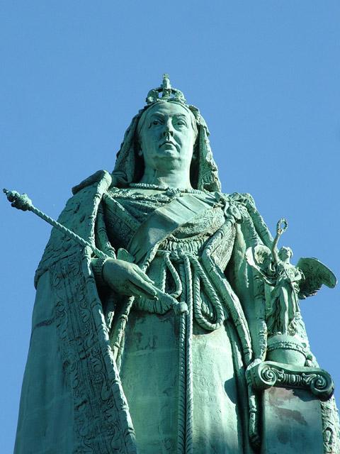 Victoria Monument, Dalton Square, Lancaster, UK