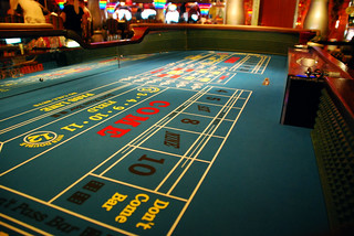 Craps table | by Lisa Brewster
