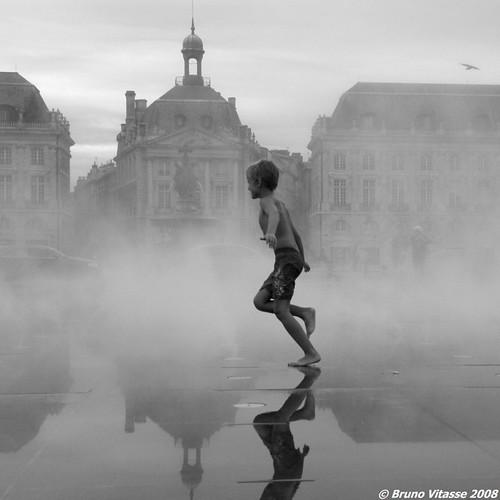 Running in water #5 | by chupacabra.art